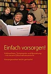 Erbrechtsbuch vom Fachanwalt für Erbrecht Dr. W. Buerstedde